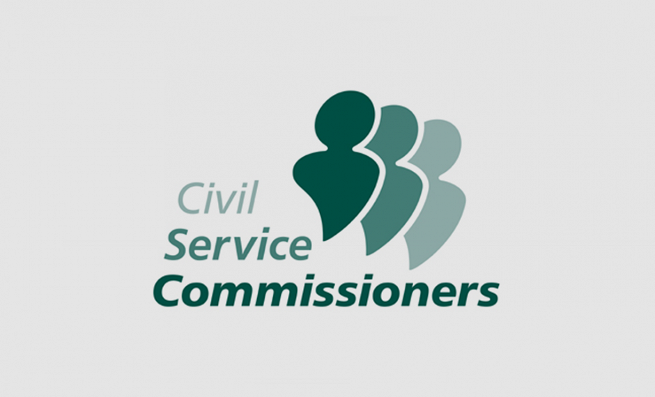 Civil Service Commissioners - London: Logo & Broschüren