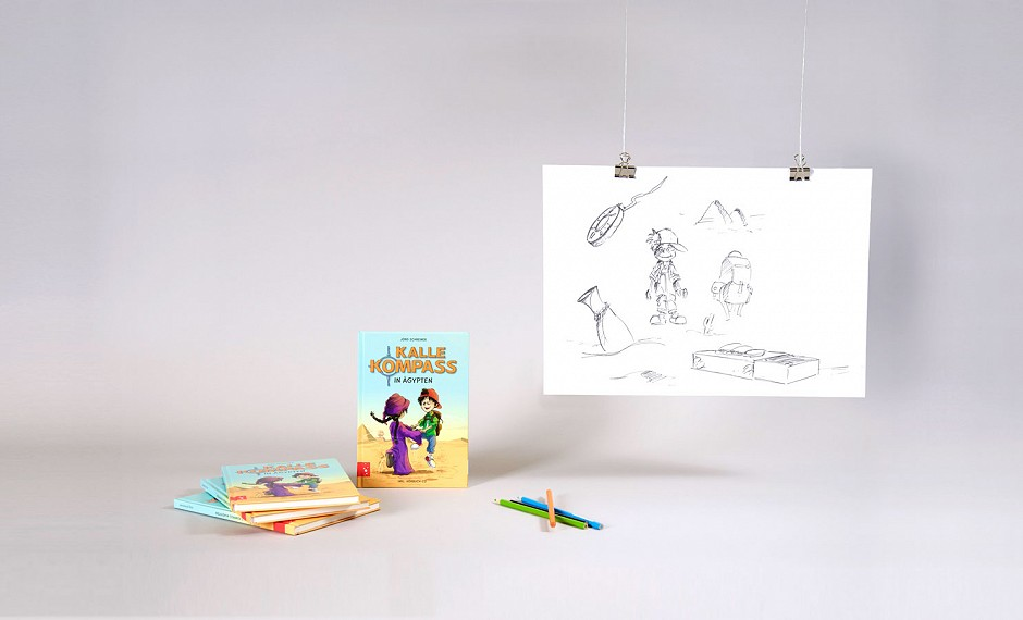 "Entertainment4Kids GmbH: Illustration und Satz des Kinderbuchs ""Kalle Kompass"""